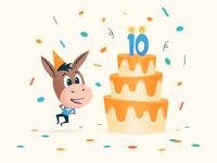 10 years 🎂