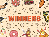 Sticker Mule Thanksgiving Playoff Winners