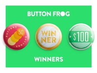 Button Frog Playoff Winners