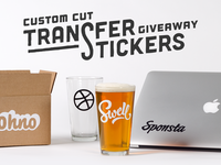 Free Transfer Stickers Giveaway