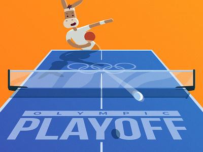 Olympics playoff shot