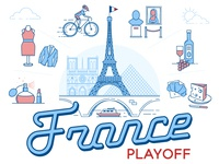 Playoff! France Sticker Design Contest