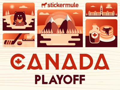 Playoff! Canada sticker design contest