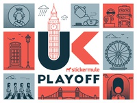 Playoff! UK sticker design contest