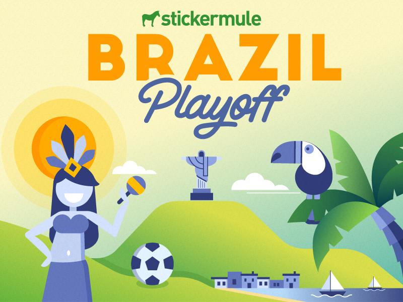 Brazil playoff 2version