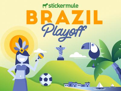 Playoff! Brazil sticker design contest