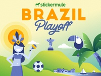 Playoff! Brazil sticker design contest