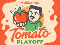 Vinny's tomato playoff!