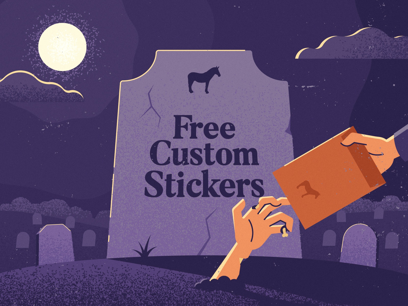 Free custom stickers for everyone