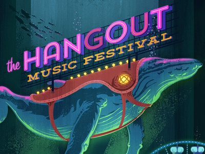 The Hangout Music Festival poster