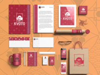 Kyoto Branding Mockup