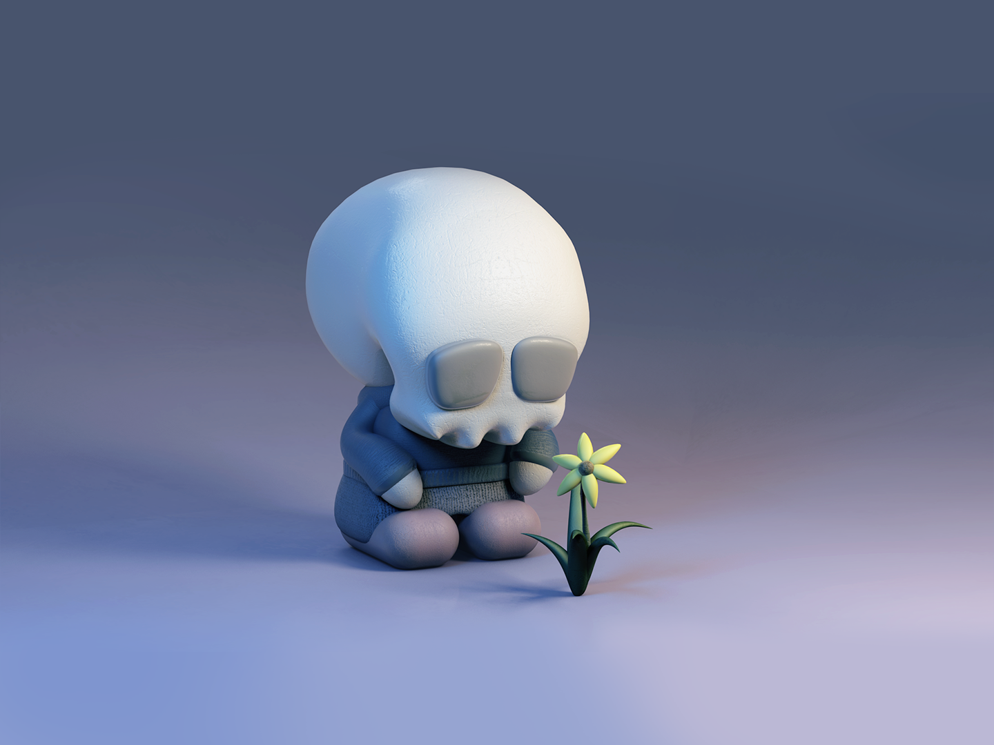 Lonely by MG August on Dribbble