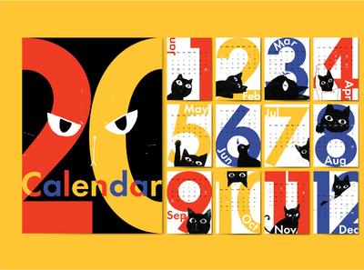 Black Cat Calendar