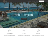 8b | Hotel Website Design!