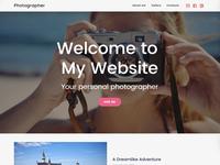 8b | Photography Website Design!
