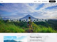 8b Online Website Builder | Travel Template!