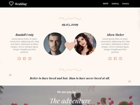 8b Simple Website Builder | Wedding Template!