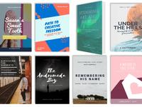 8b Simple Website Builder | Books Gallery Template!