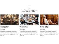 8b Simple Website Builder | Newsletter Template!