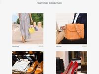 8b Mobile Website Builder | Shop Template!