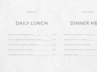 8b Easy Website Builder | Restaurant Menu Template!