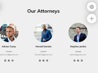 8b Online Website Builder | Our Attorneys Template!