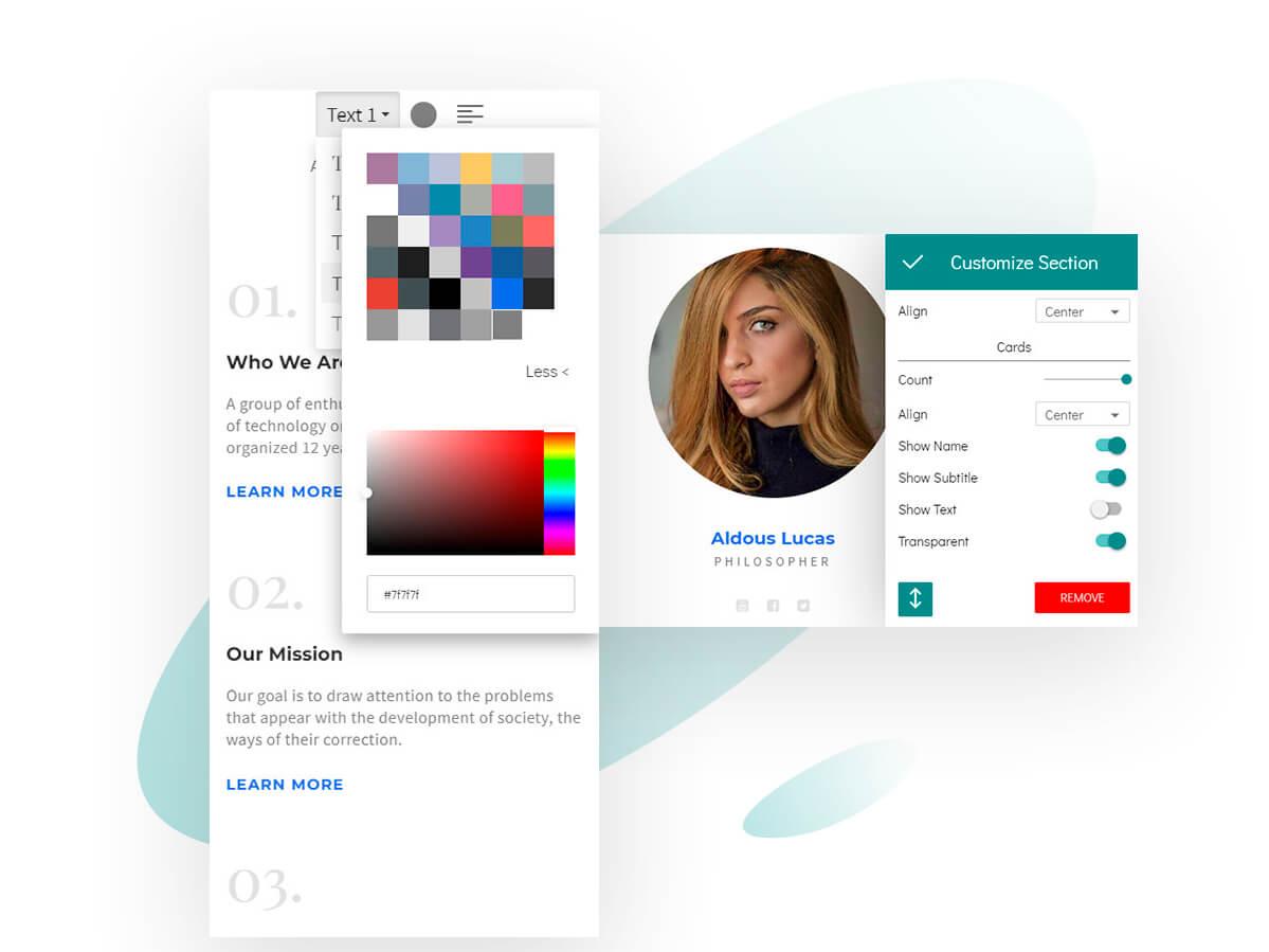 8b Mobile Website Builder | WYSIWYG Editor! by 8b Website