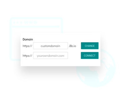 8b Free Website Builder | Connect Your Domain!