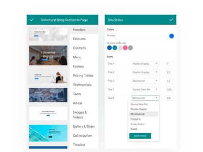 8b Drag and Drop Website Builder | Mobile App Design!