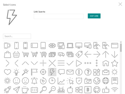 8b Easy Website Builder   Awesome Icons! bootstrap brand html5 html css responsive website mobile web design clean