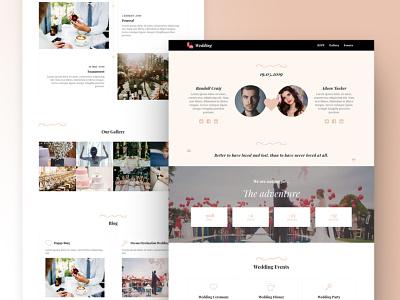 8b Best Website Builder For Wedding Websites responsive brand html css html5 ui clean website design mobile web