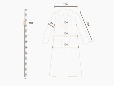 Size chart (coat)