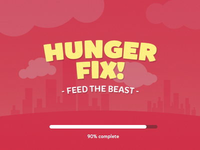 Hunger Fix sketch android ios app mobile app