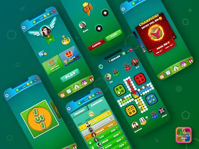 Ludo Star adobe xd game graphics uxui uiuxdesign game trends ios graphic design designer app design ui trends mobile game ui xd uxdesigns game designer game design game uxdesign uidesigner ui ux
