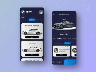 BMW Store Concept App store xd adobe sketch user experience user interface wireframe android ios mobile application trends web design ux design ui design