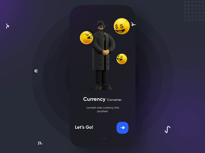 Currency Converter after effects motion ios mobile app chart concept converter micro interaction animation banking currency mobile ux ui design sketch app design ui user interface xd application
