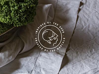 Olympus Fare Salsa michigan mark graphic identity story branding salsa color food type typography logo