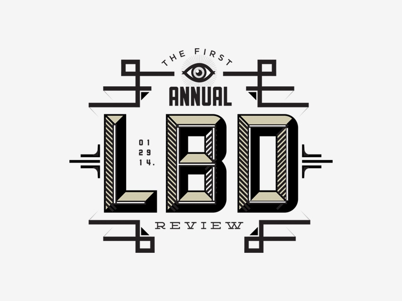 Leo Burnett Annual Review graphic design lettering graphic branding poster advertising icon typography type logo