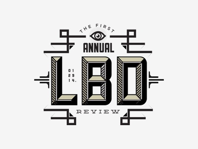 Leo Burnett Annual Review graphic design lettering graphic branding poster advertising icon typography type logo