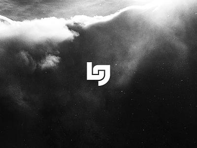 Lg graphic design nature space type typography icon logo