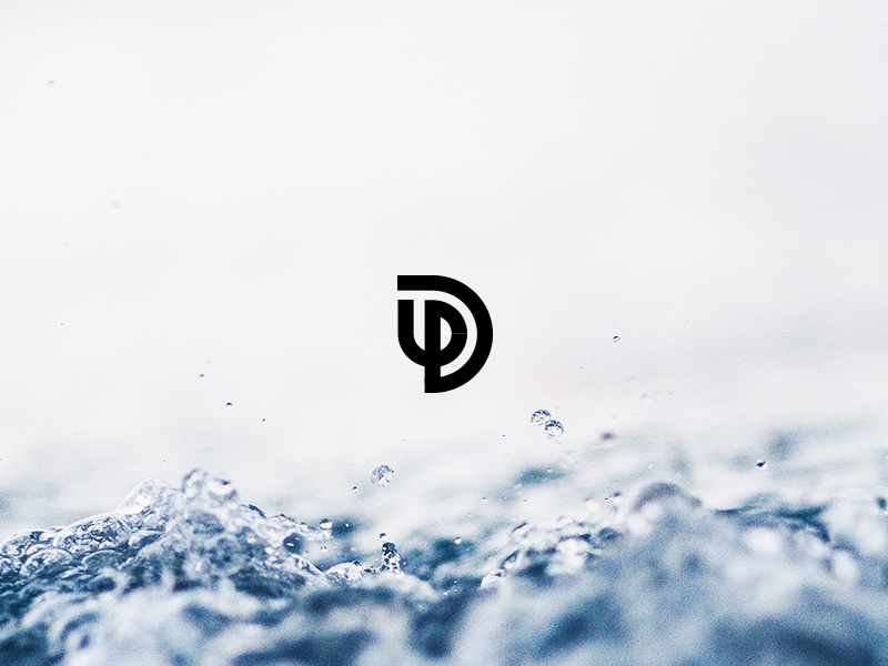 Davit graphic design nature water color type typography icon logo