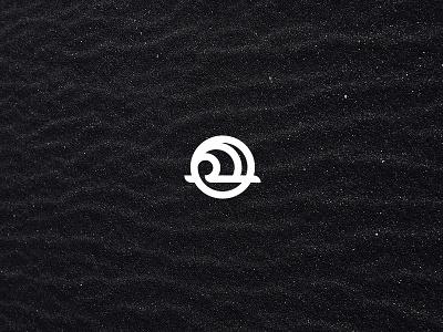 Seiche water ocean graphic illustration minimal wave design icon logo