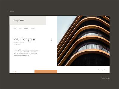 krieger Architects graphic business brand logo digital website design architects architecture