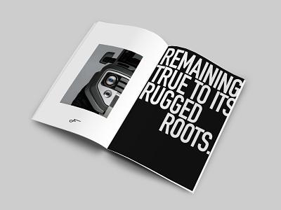 Ford Rebrand Spread logo icon graphic design typography ford ad print design