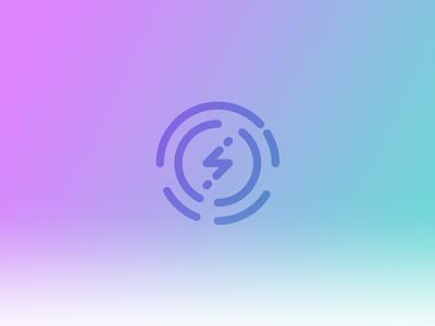 EV Logo electric website web digital icon logo automotive