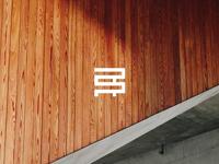 RR.O carpentry wood architecture design graphic icon logo