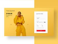 Daily UI 2/100 - Credit Card  UI/UX