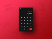 Daily UI 4/100 - Calculator