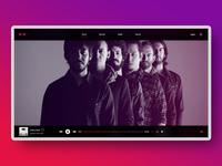 Daily UI 9/100 - Music Player