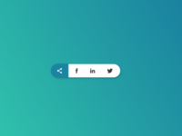 Daily UI 10/100 - Social share
